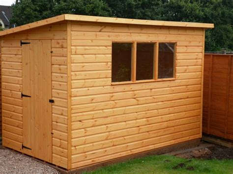 Garden Shed Ebay by Quality Pent Roof Wooden Garden Storage Shed Ebay