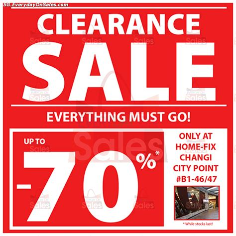 home fix singapore diy home improvement clearance sale