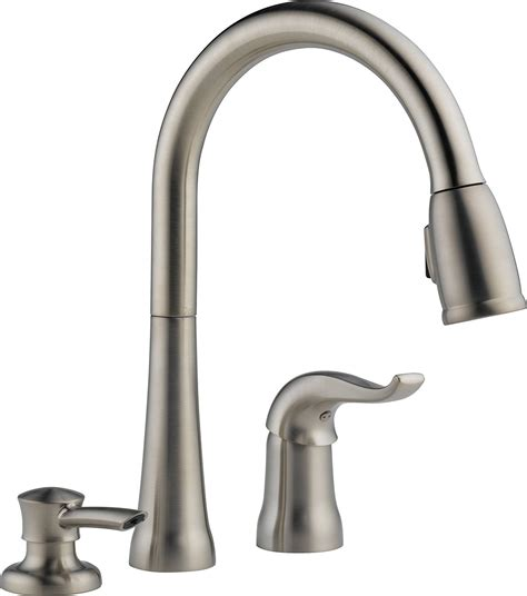 kitchen pull down faucets pull down kitchen faucet with magnetic sprayer dock best