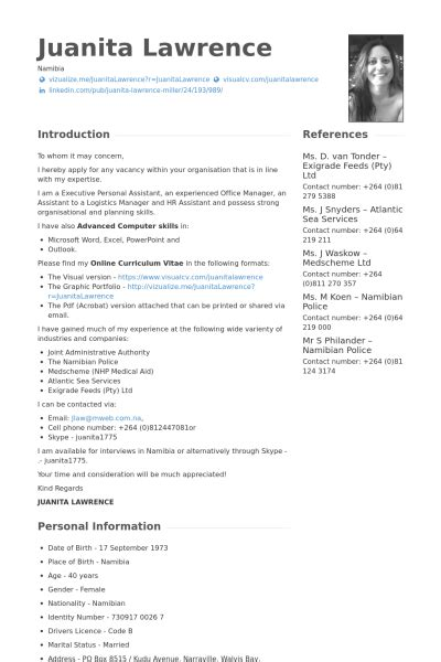 Resume Example References by Logistics Manager Resume Samples Visualcv Resume Samples
