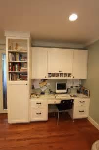 Built In Kitchen Desk Built In Desk