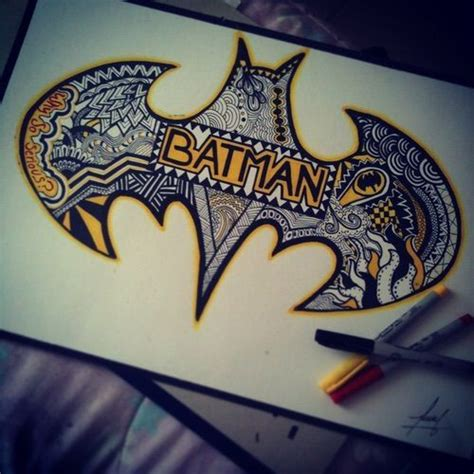 batman mandala tattoo 25 best ideas about cool drawings on pinterest cool art