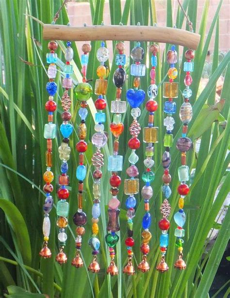 diy beaded wind chimes beaded wind chime windchime sun catcher suncatcher