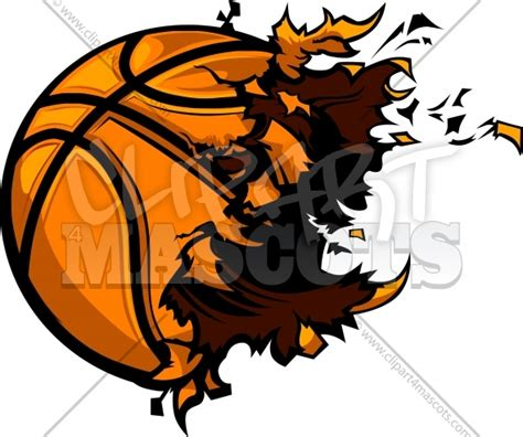 basketball clipart vector basketball explosion graphic vector logo