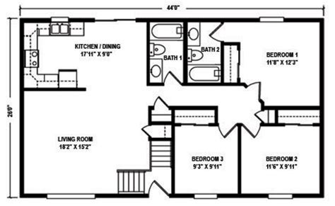 raised homes floor plans north mountain modular raised ranch floor plans