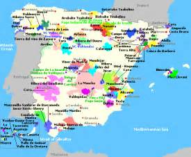 Wine Map Of Spain by Spain Wine Map Pictures To Pin On Pinterest