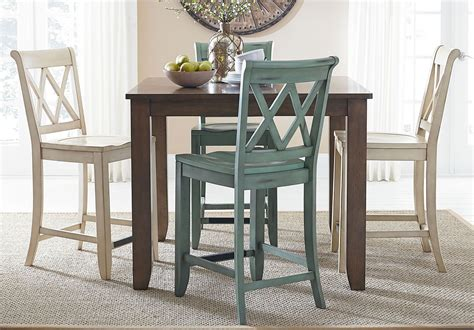 Grey Dining Room Set Canada Vintage Counter Height Dining Room Set W Chair Choices