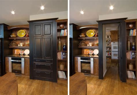Rustic Kitchen Pantry by Butler S Pantry Kitchen Design With Rustic Touches