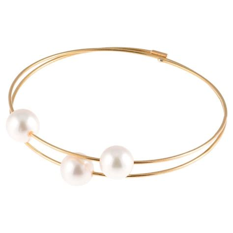 Bracelet femme perle de culture et or 18 carats