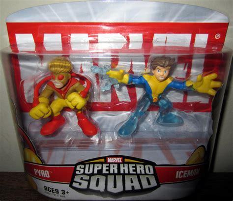 Figure Transformers Shs pyro iceman squad figures