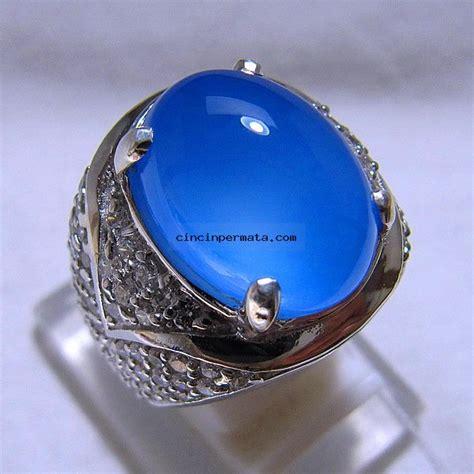 Biru Langit Asli Galian Baturaja batu mulia biru langit spirtus baturaja cincinpermata