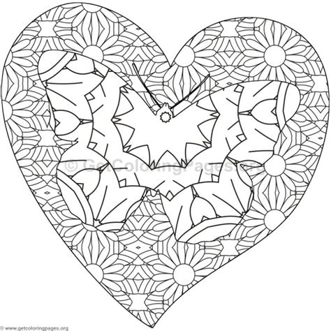 coloring pages of butterflies and hearts coloring pages of hearts and stars heart butterfly