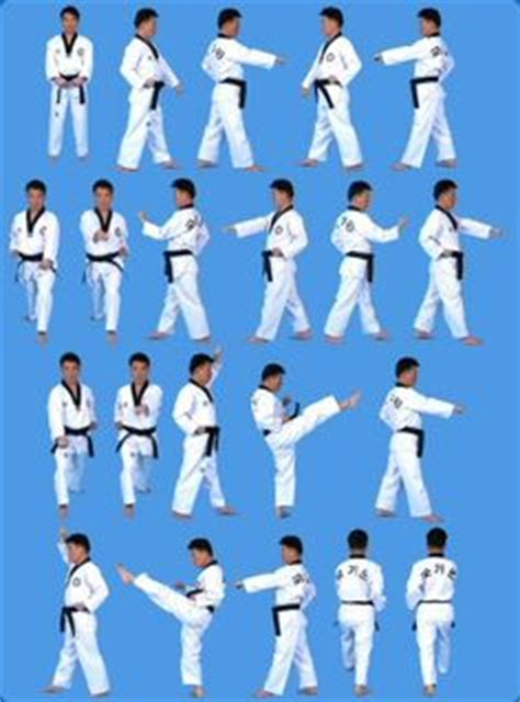taekwondo pattern black belt 1000 images about poomsae taegeuk forms on pinterest