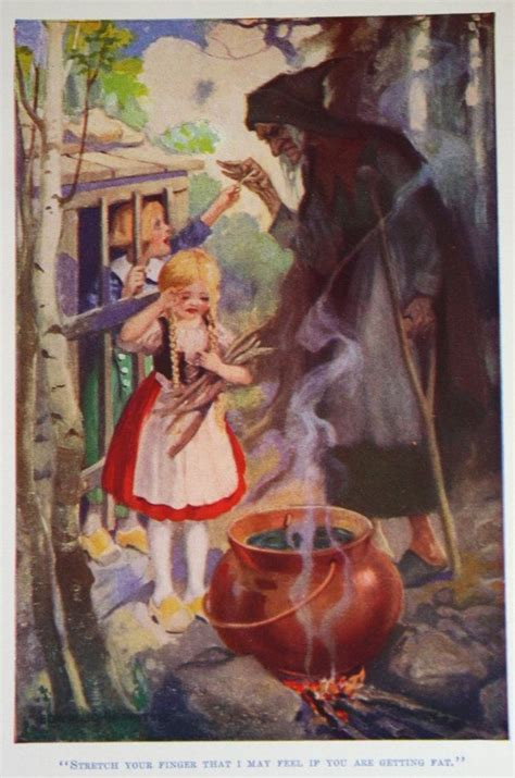 grim the story of a pike classic reprint books vintage tale illustrations vintage hansel and
