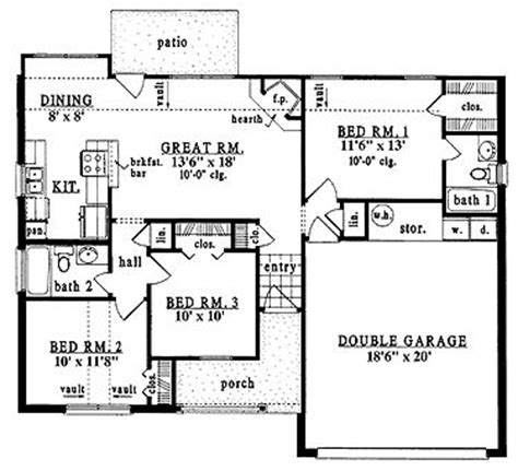 1000 Sq Ft Garage Plans by 17 Best Images About 1000 Square Homes On