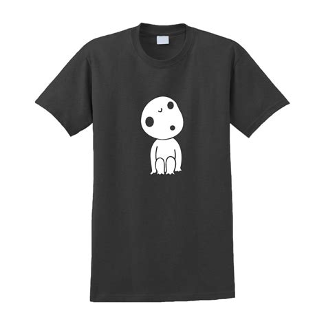 Anime T Shirts Uk by Totoro Kodama Inspired Tshirt My Totoro Studio