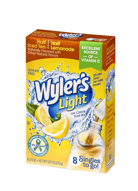 wyler s light half tea and half lemonade