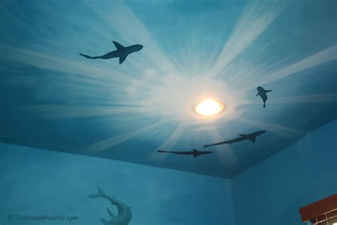 Coral Reef Home Decor by The Dream Painter Underwater Scene Mural