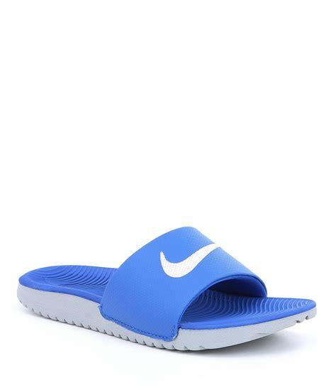 nike sandals for boys nike boys kawa sandals dillards