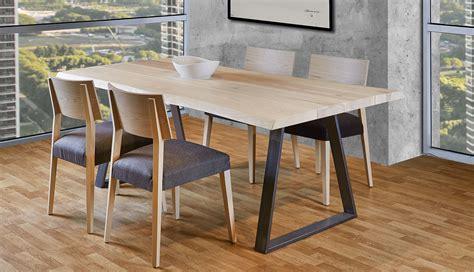mesa de comedor madera maciza roble juli en cosas de