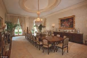 Mansion Dining Rooms by Spelling S Big Move From 85 Million Mansion Is