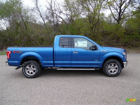 2015 ford truck colors 2015 blue metallic ford f150 xlt supercab 4x4