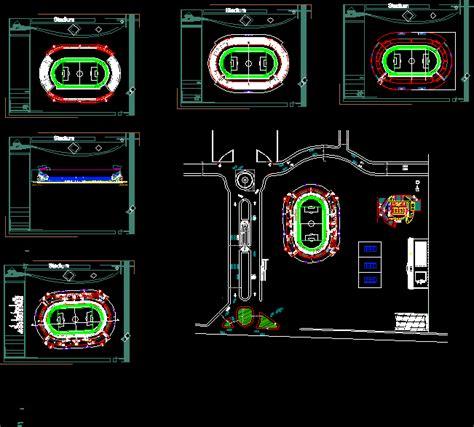 stadium dwg block  autocad designs cad