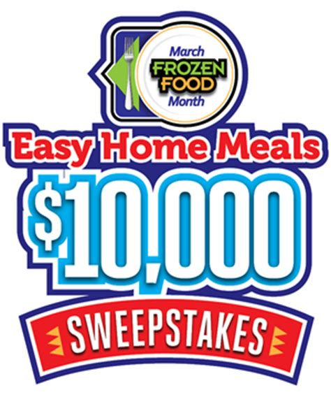Win Money Sweepstakes 2017 - march frozen food month 10 000 sweepstakes 2017 ends 3 31 17 enter to win contests