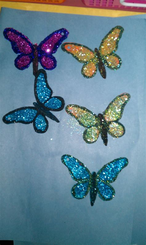 glitter craft projects butterfly glitter teaching school crafts projects