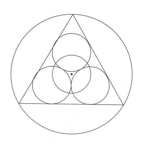 imagenes de mandalas con circulos mandalas para pintar circulos y triangulo juntos