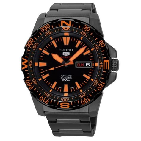 seiko 5 sports automatic srp547k1 stainless steel