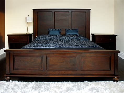 King Bed Frame Toronto Solid Wood King Bed Frames Grand Camden Toronto