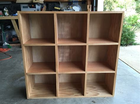 bookcase storage cubby unit  steps  pictures