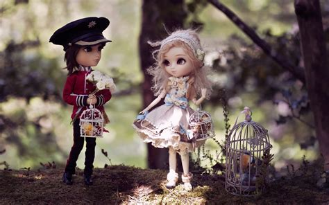 wallpaper cute doll couple couple of dolls wallpaper high definition high quality