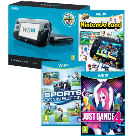 Nintendo Land Wii Bekas wii u console 32gb nintendo land premium bundle includes