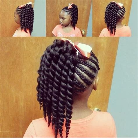 crochet ponytail hairstyles 60 cute braids for kids adorable styles for little