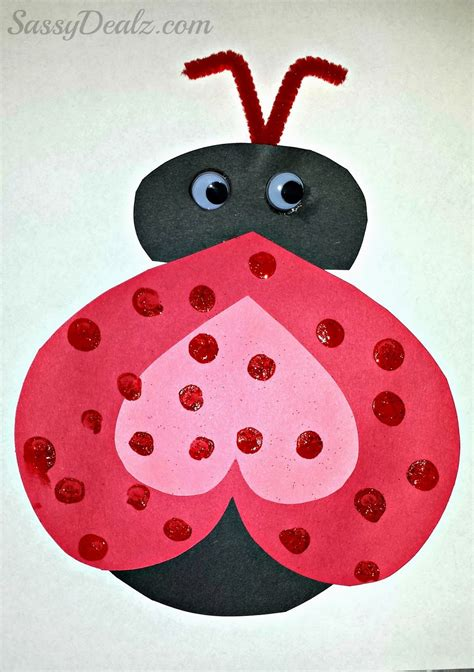 ladybug valentines crafts actvities and worksheets for preschool toddler and