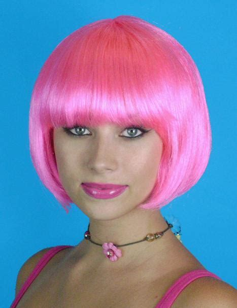deluxe pink bob wig creative costumes