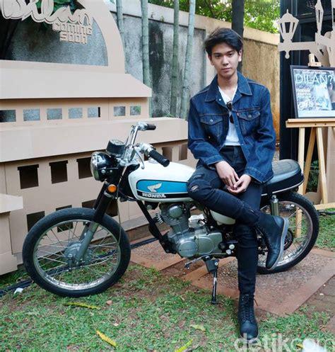 film anak honda demi film dilan iqbaal pakai cb100 sebagai motor harian
