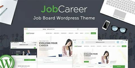 themeforest jobcareer jobcareer v1 7 job board responsive wordpress theme