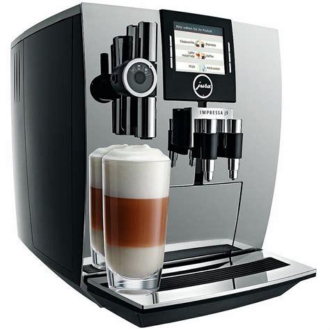 test koffiemachine jura impressa xj9 pro kaffeevollautomat im test kaffee org