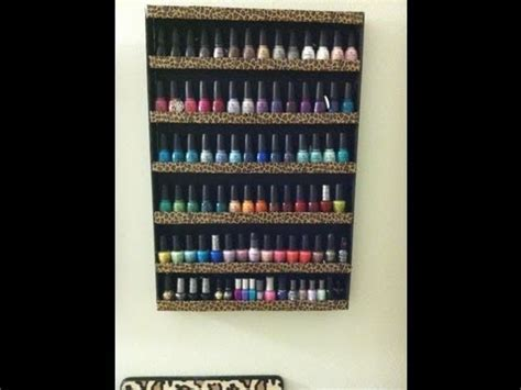 DIY Nail Polish Rack   Trusper