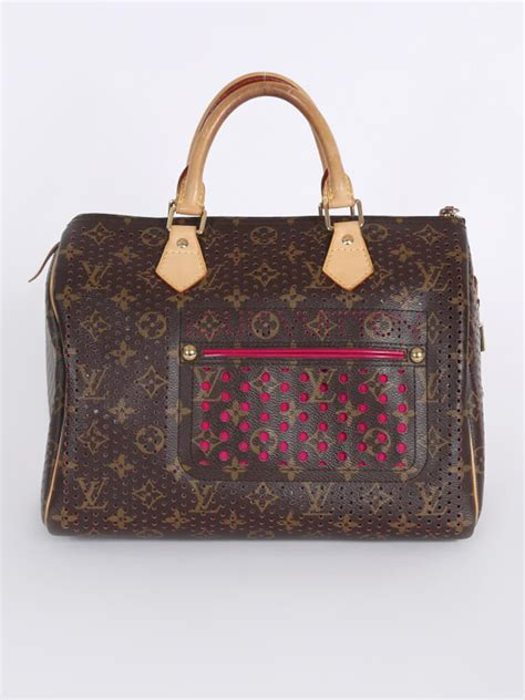 Louis Vuitton Limited Edition 50113 louis vuitton speedy 30 perforated pink limited edition luxury bags