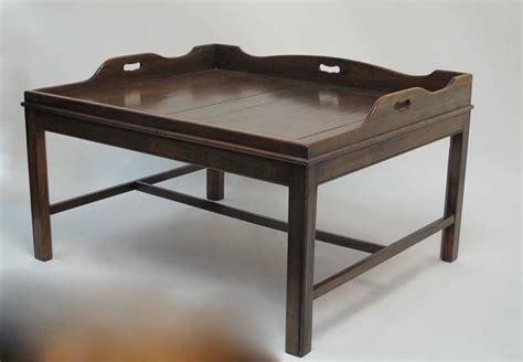 georgian coffee table georgian mahogany butler s tray coffee table for sale at