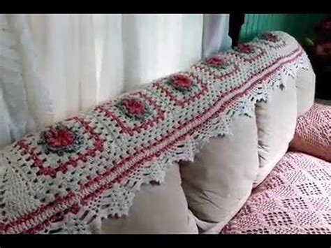 capa de sofa de canto em croche luxo da cida artes em croch 202 capa de sof 193 de tr 202 s lug