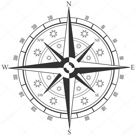 coloring page of compass rose compass rose coloring pages
