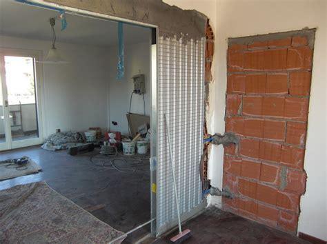controtelaio porta scorrevole progetto di ristrutturazione di appartamenti in villa