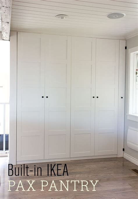 Garage Pantry Cabinet by Diy Storage Cabinets Woodworking Projects Plans