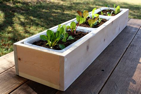 how to build a wooden planter box 15 planter boxes you ll want to diy right now garden club