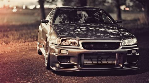 nissan gtr skyline wallpaper nissan skyline gt r r34 hd wallpapers hd car wallpapers